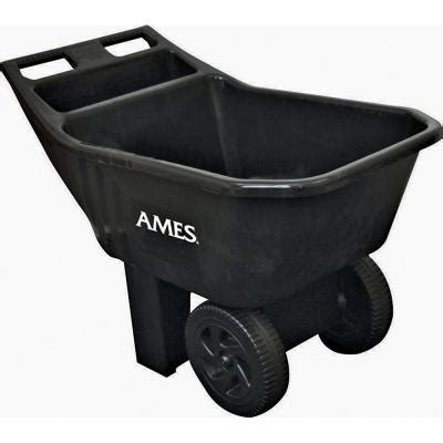 ames 3 cu ft easy roller jr poly yard cart discontinued