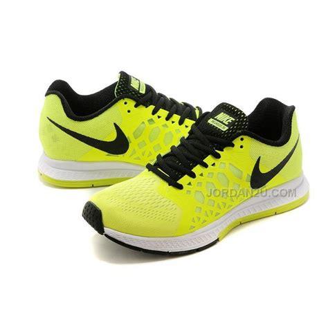 nike zoom pegasus  womens running shoes lemon yellow