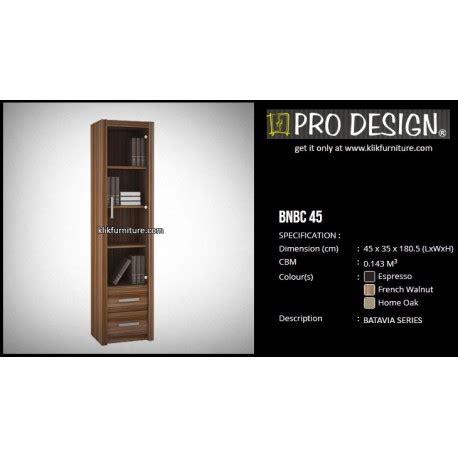 Jual Rak Tv Prodesign bnbc 45 lemari rak buku kantor pro design sale