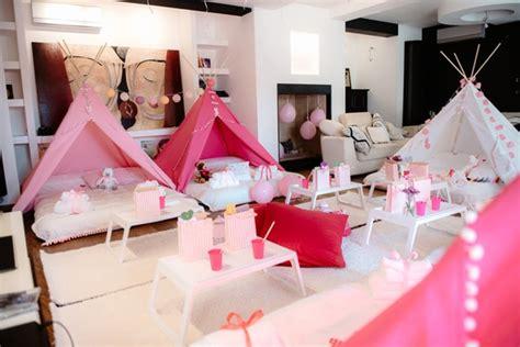 pajama party birthday celebration