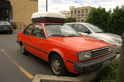 old nissan sentra old parked cars 1983 nissan sentra