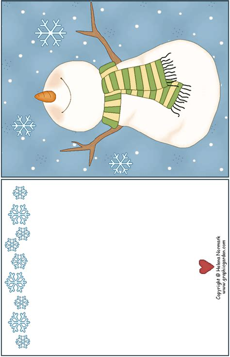 printable winter greeting cards free printable greeting cards