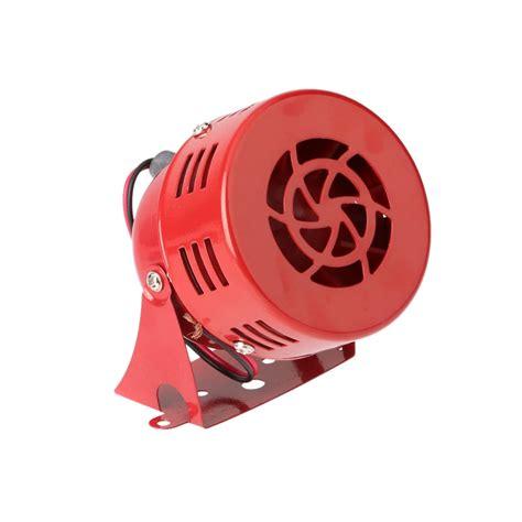 Promo Acc Motor Klakson Motor Polisi Sirene 3 Suara 12v 3 quot automotive air raid siren horn car truck motor driven alarm sales tomtop