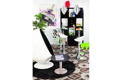 Table Et Chaise Pas Cher 2868 by Tapis Rond 160 Noir Shaggy Tapis Design Pas Cher