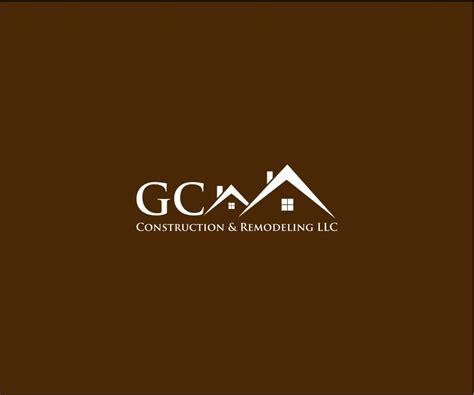 gc designcrowd 30 professional elegant construction logo designs for gc