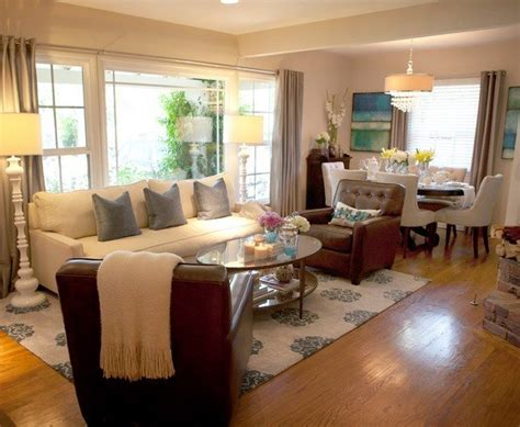 transitional family room kitchen combo decosee com the undeniable beauty of living rooms with glass walls