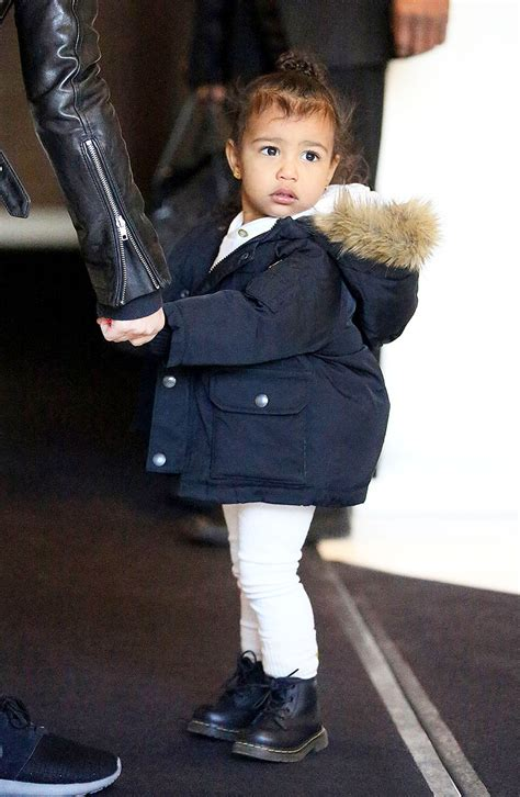 north west s fuzzy topknot vogue