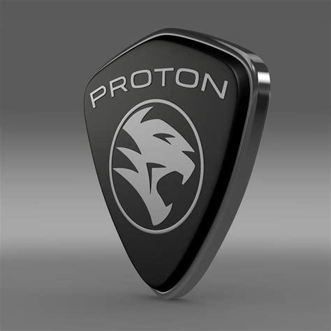 proton lambo proton logo 3d model max obj 3ds fbx c4d lwo lw