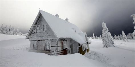 Frozen House by Fall River Insurance Insuring All Of Massachusetts