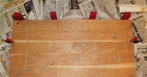 Mo Hogany Cherry Table Top Glue Up