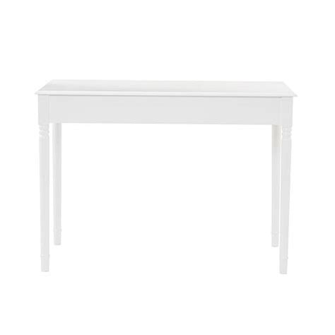 Crisp White 2 Drawer Writing Desk 6408545 Hsn White Writing Desk With Drawers