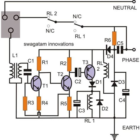 earth leakage circuit breaker diagram wiring diagrams