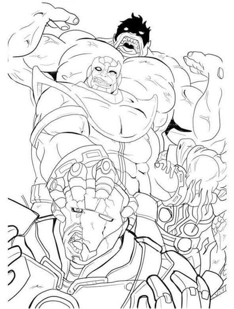 infinity war coloring pages  printable coloring