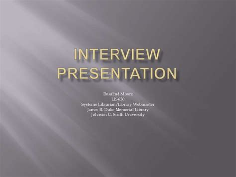 powerpoint templates for interview presentations interview presentation