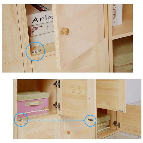 10x magnetic door catches for kitchen cabinet cupboard