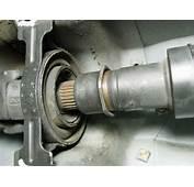 Replacing The Driveshaft Bearing