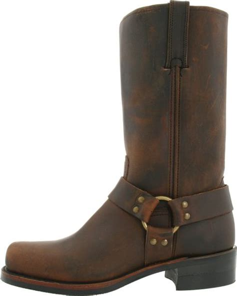 frye mens harness 12r boot in brown for gaucho lyst