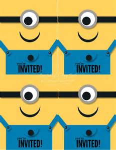 minion birthday invitation gangcraft net