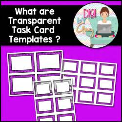 Digi Card Template by Digi By What Are Transparent Task Card Templates