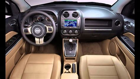 jeep 2016 inside 2016 jeep compass interior youtube