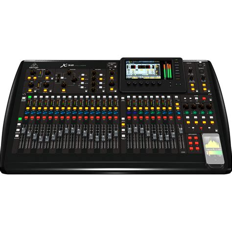 Mixer Behringer 2 Channel behringer x32 32 channel digital mixer box opened at
