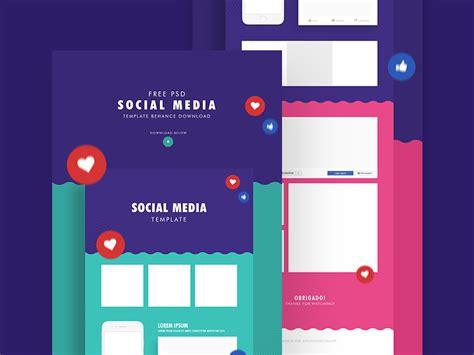 23 Cool Freebies For Designers December 2017 Mooxidesign Com Social Media Templates 2017