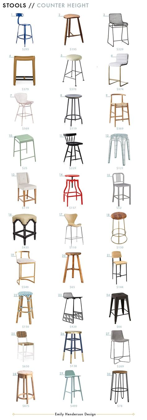 Restaurant Counter Height Bar Stools by Best 25 Counter Height Stools Ideas On