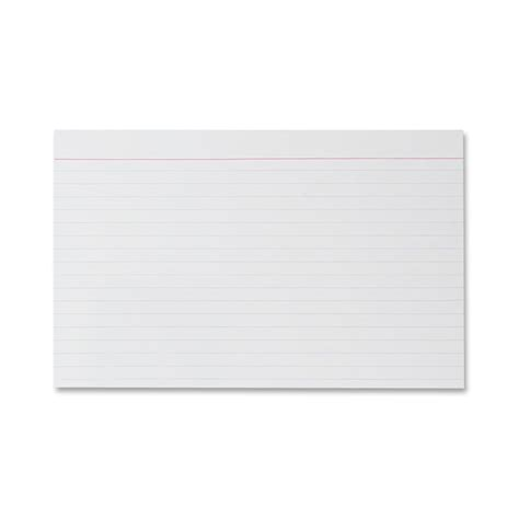 template for 5x8 card 9 best images of printable index cards with lines