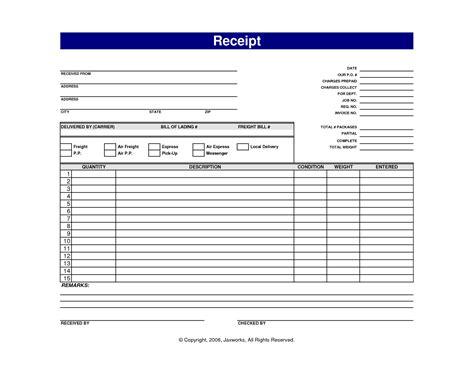 sales receipt template teller resume sample