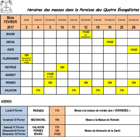 Calendrier 5 Fevrier Calendrier Et Agenda Du Mois De Fevrier 2017