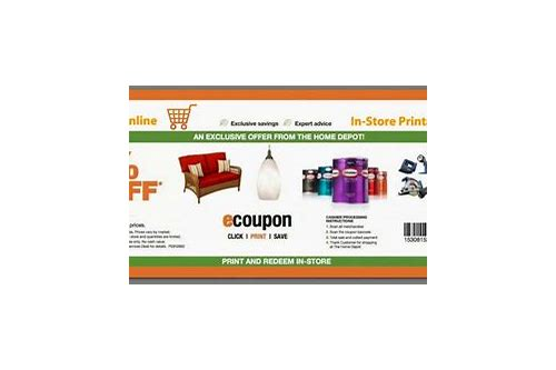 coupon code for home depot 2018