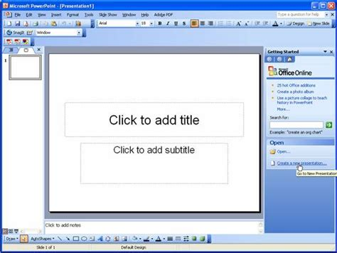 tutorial on powerpoint 2003 image gallery microsoft powerpoint 2003