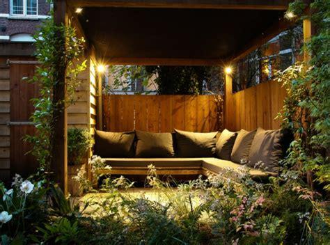 pavillon für den garten idee ideen hinterhof