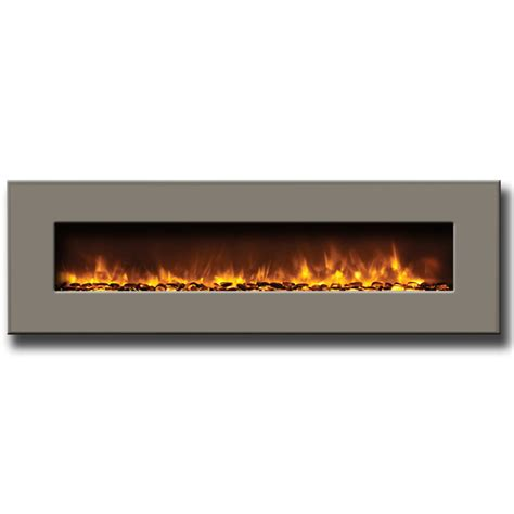 built in wall mount fireplace amantii 58 quot wall mount built in electric fireplace with