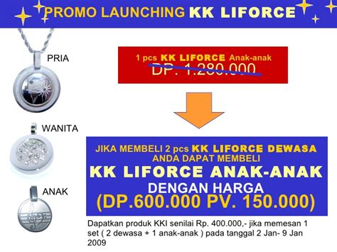 Set Titanium Dewasa kk liforce