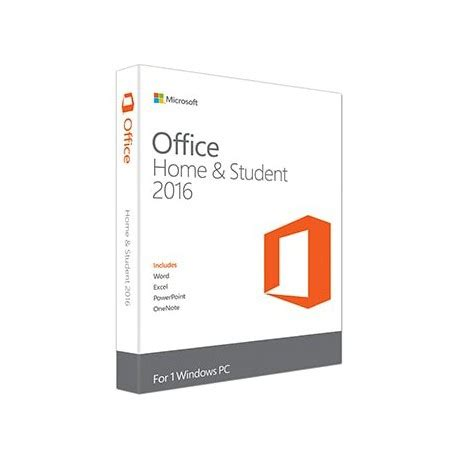 Microsoft Office For Pc Microsoft Office Home And Student 2016 For 1 Pc