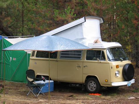 vw bus awning thesamba com bay window bus view topic let s see