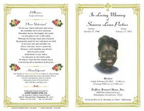 free funeral programs template website resume cover letter