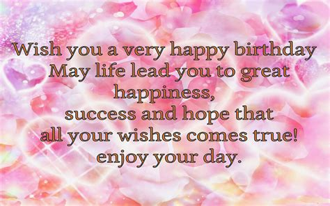 Wish You A Happy Birthday Birthday Wishes For Lover With Wallpapers Poetry Likers
