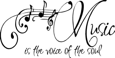 printable music quotes quote music is the voice of the soul special buy by