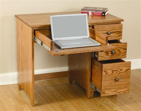 Amish Berlin Economy Desk With Drawers Small Desk With Drawer