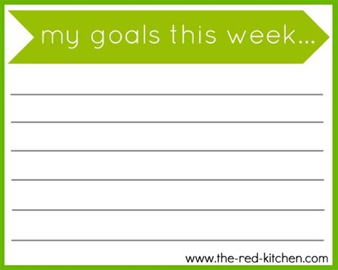 goal card template faith home my goals for 2013 and free printable new