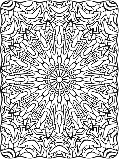 stress less coloring book 30 intricate detail page mandalas for coloring in for relaxation and stress relief books line coloring pages 16 for free book with
