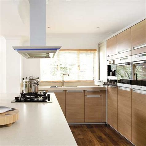 sleek and practical kitchen housetohome co uk