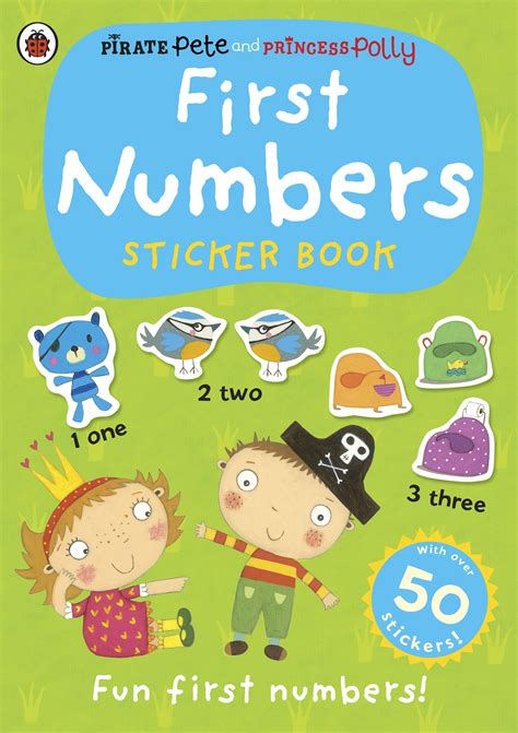 princess pollys potty sticker 0723281580 pirate pete and princess polly first numbers sticker book penguin books australia