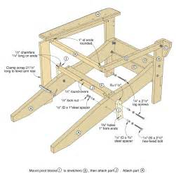 Folding Adirondack Chair Plans by Folding Adirondack Chair Plans Free Find