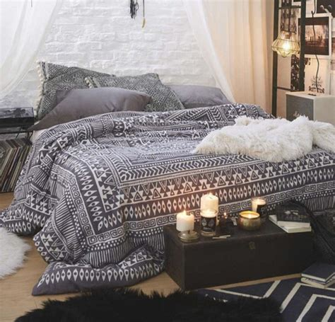 Tribal Comforter by Home Accessory Black White Bedding Duvet