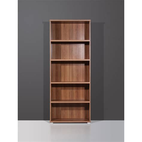 Shelving Unit Vision Walnut Narrow 5 Tier Shelving Unit 1093 88