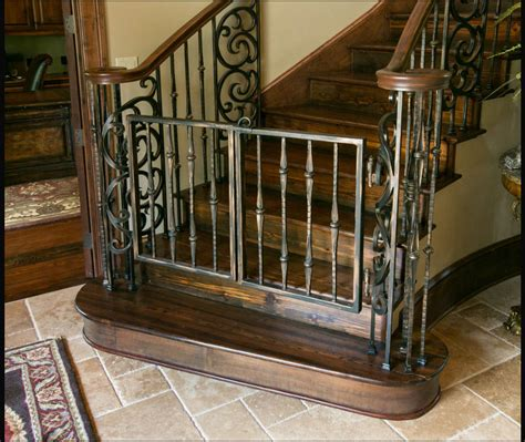 Gate For Stairs With Banister by Safety Gates Mccormick Design