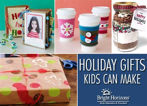 diy holiday gifts kids can make bright horizons parent blog